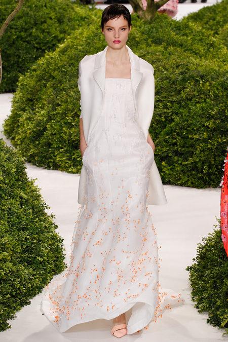 Dior spring 2013 white dress
