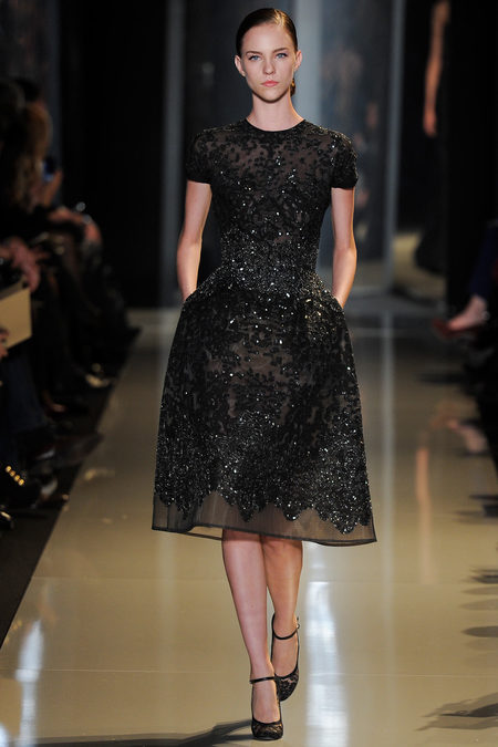 Ellie Saab couture 2013 black