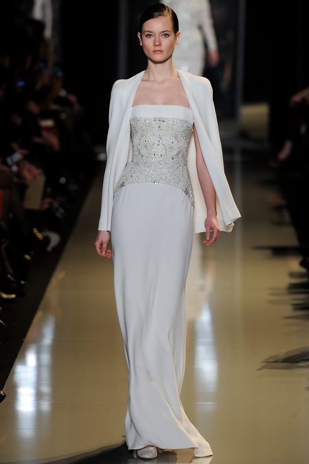 Ellie Saab couture 2013 white